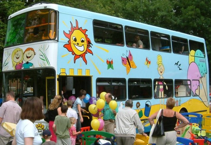 Buffy Bus at Cammas Hall Farm