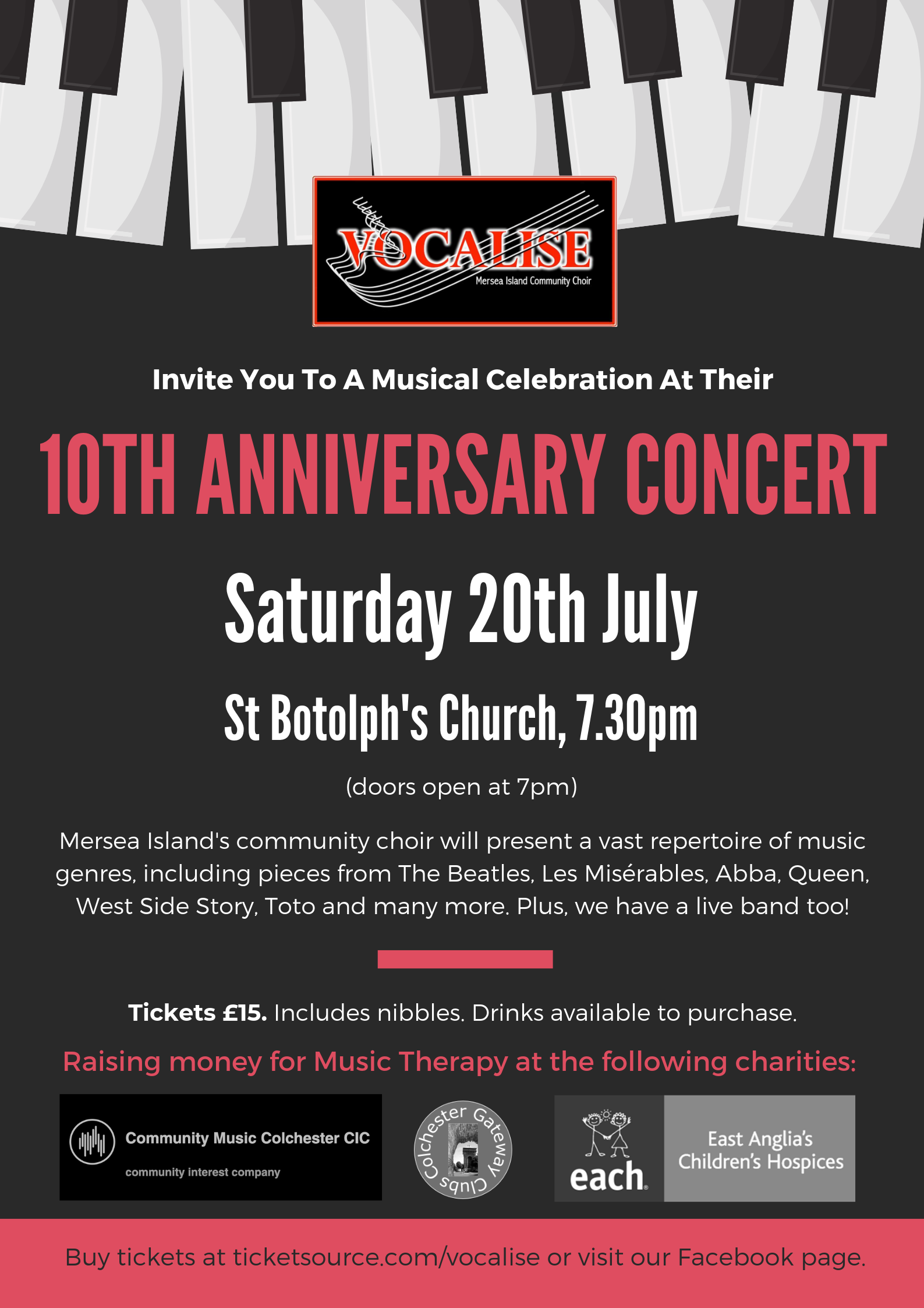 Vocalise's 10th Anniversary Concert