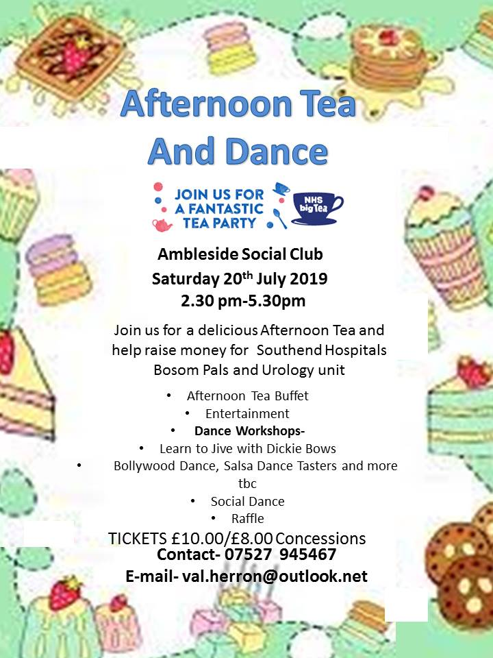 Afternoon Tea and dance