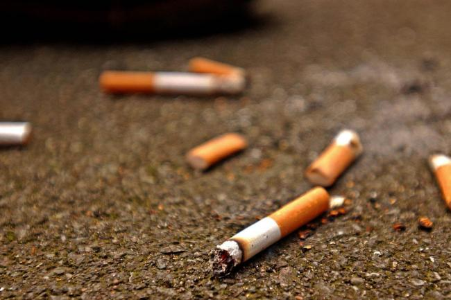Man fined hundreds for dropping cigarette butt in front of officer