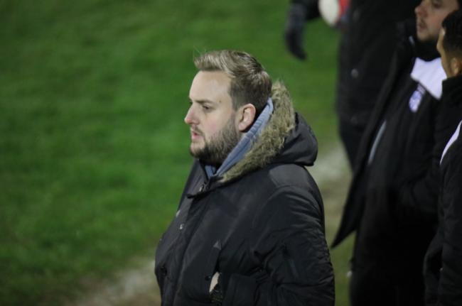 Back at Grays Athletic - Hullbridge Sports boss Darren Manning Picture: NEIL HUNWICKS