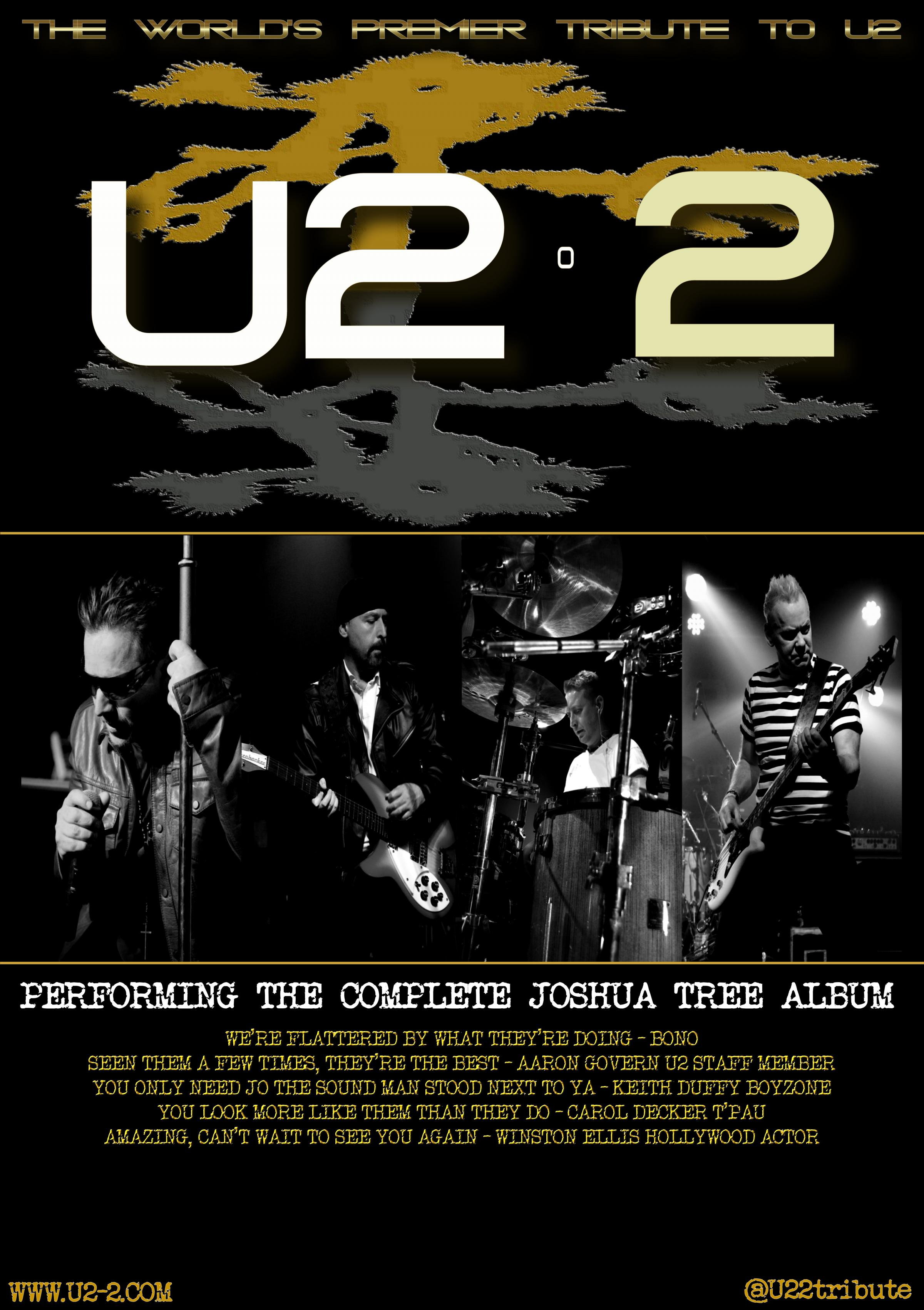 U2 2 present The Joshua Tree album show