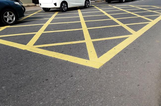 How to use yellow box junctions...just in case you're unsure
