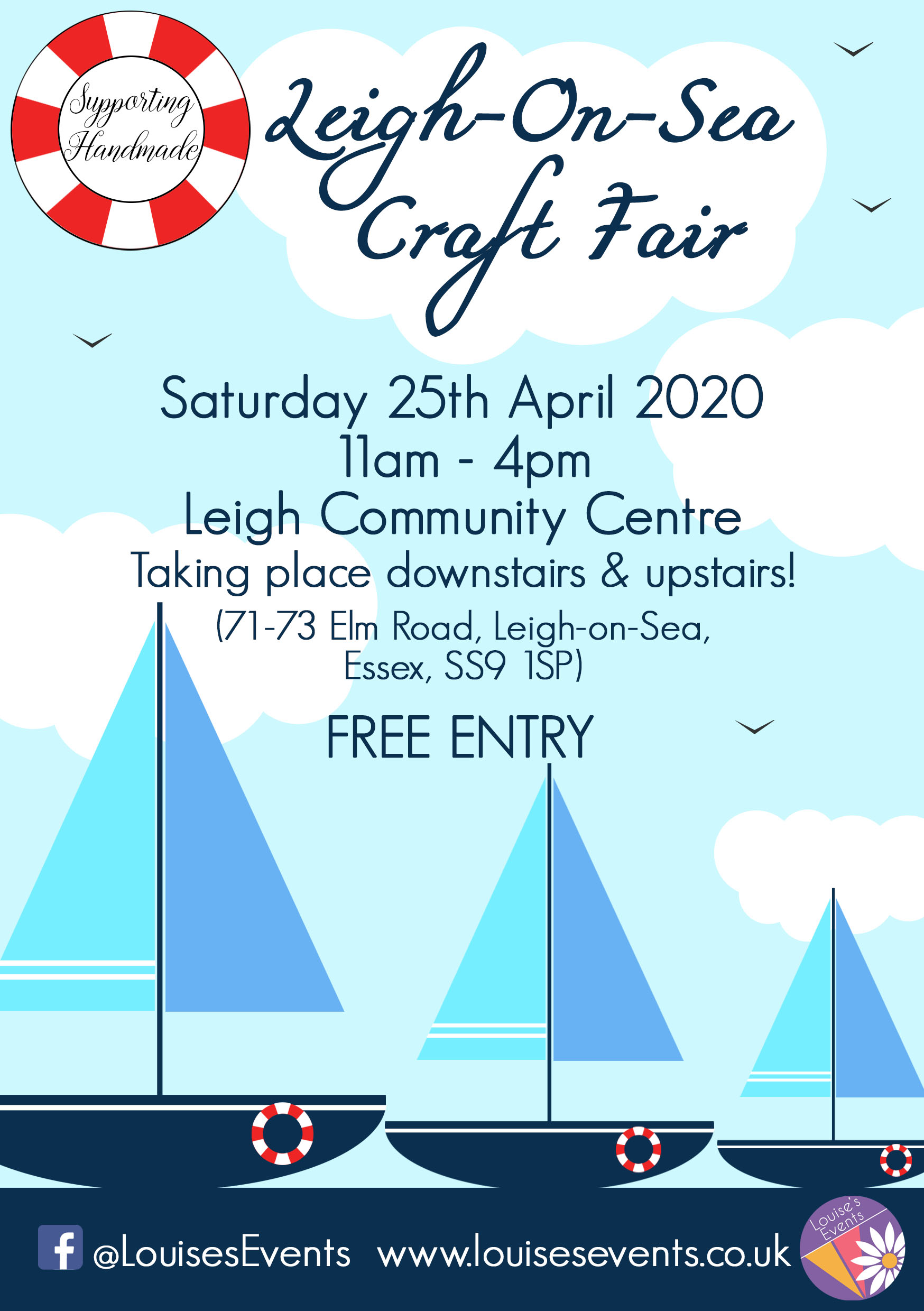 Leigh-on- Sea Craft Fair