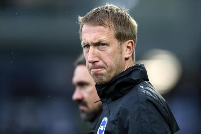 Graham Potter admitted changes at Arsenal have created uncertainty for Brighton