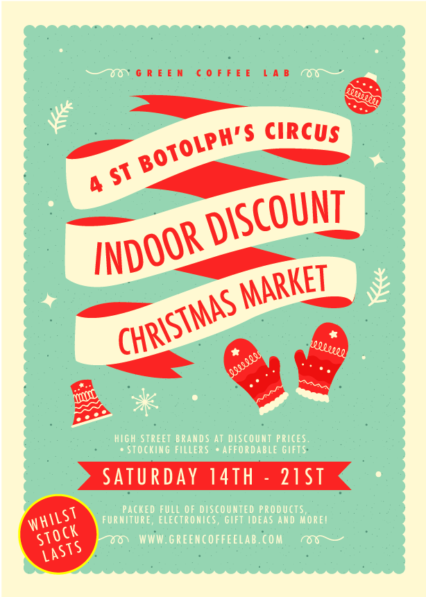 Indoor Discount Christmas Market
