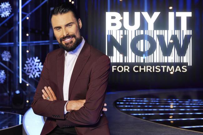 Christmas show – Rylan Clark-Neal is taking over from Brian Conley on Buy It Now