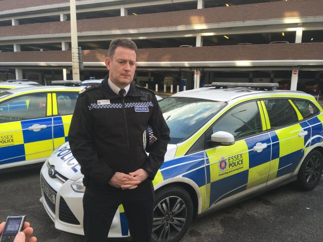 Ambition - Essex Chief Constable BJ Harrington hopes to do more