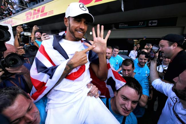 Lewis Hamilton is this season bidding for a seventh world championship
