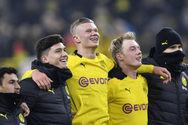 Erling Braut Haaland Continues Remarkable Scoring Run As Dortmund Thrash Cologne Thurrock Gazette