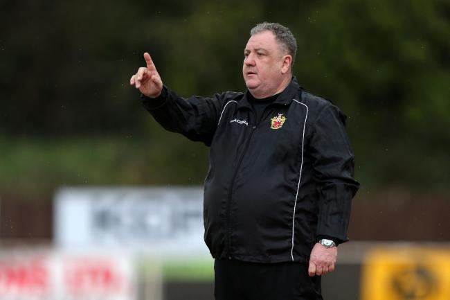 Stepping in - Colin McBride is looking to ensure a sound future for East Thurrock United Picture: GAVIN ELLIS/TGSPHOTO