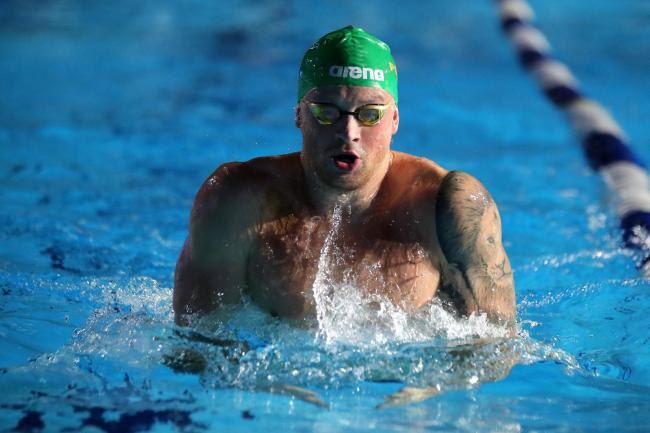 Adam Peaty will take part in a virtual cycle on Wednesday