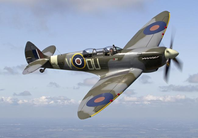 How you can see the NHS Spitfire as it flies over Essex on Friday