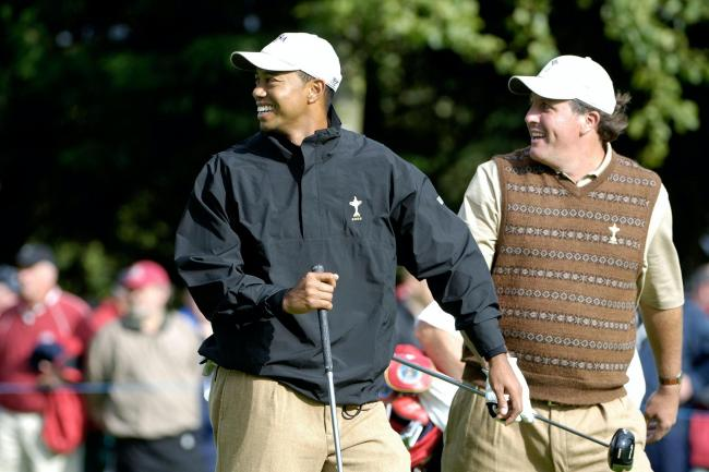 Tiger Woods and Phil Mickelson will face each other again