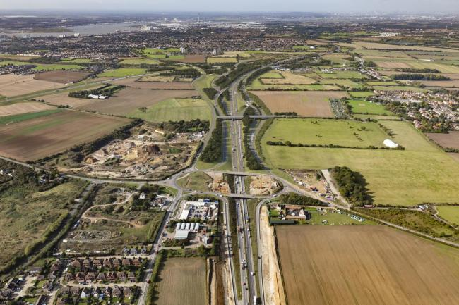 Section of A13 will close for three days from tomorrow