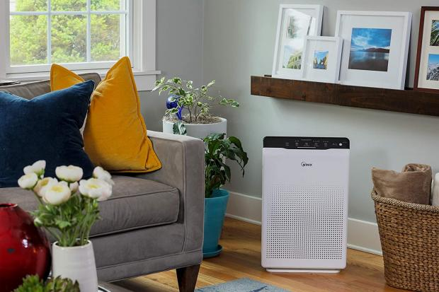 Thurrock Gazette: The Winix Zero air purifier has Clear Air Delivery Rate (CADR) values exceeding 390 cubic metres per hour, which should help to remove pollutants from your air quickly. Credit: Winix