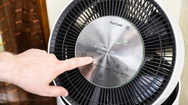 Thurrock Gazette: If you purchase an air purifier make sure to clean or replace its filters regularly so that the air purifier is always performing at its best. Credit: Reviewed.com / Betsey Goldwasser