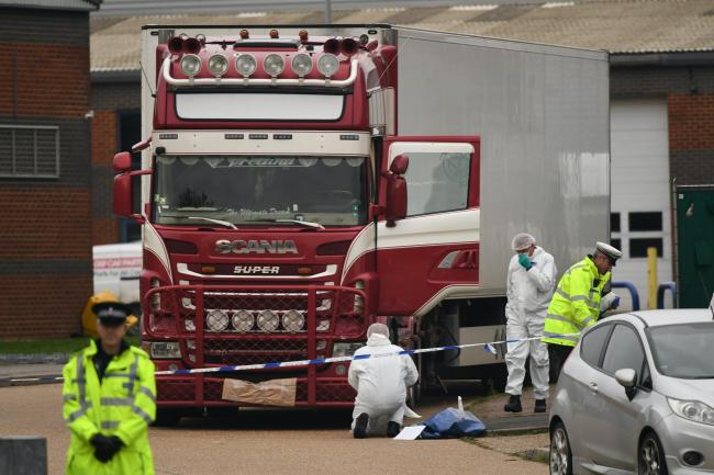 Lorry driver 'devastated' for families of 39 migrants found dead in container