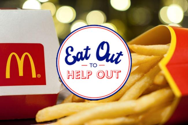 McDonald's has issued some clarification over the Eat Out to Help Out Scheme after some confusion