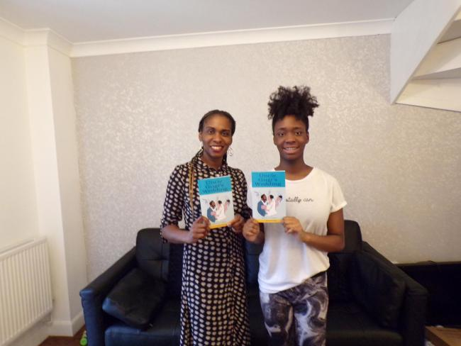 Storytellers - the mum and daughter duo with their new book