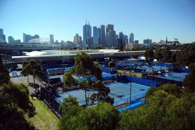 Melbourne Park, the Australian Open venue