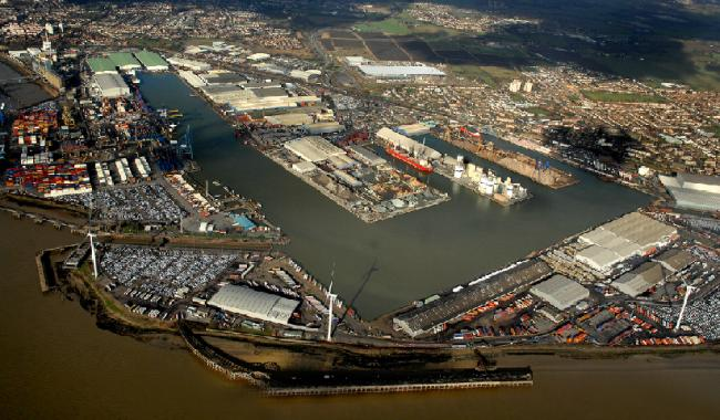 Jonathan Moore died at the Port of Tilbury