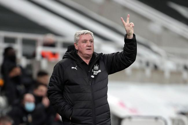 Newcastle head coach Steve Bruce saw victory snatched from his grasp