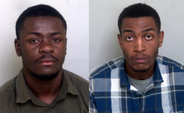 Drug dealers - Olakunle Ekundayo (pictured left) and Sean Allen (pictured right)