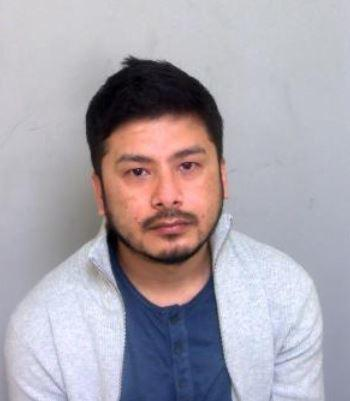 Jailed - Bhusan Chettri was caught in Grays