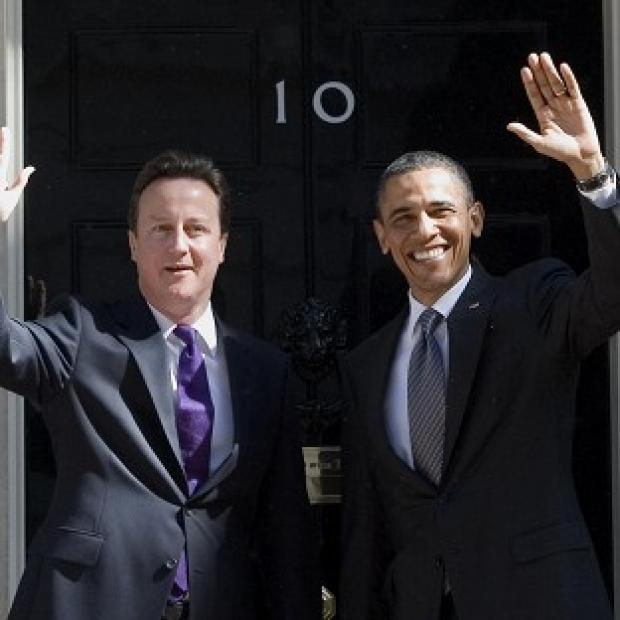 Prime Mnister David Cameron and Barack Obama are set to underline unity between Britain and the United States