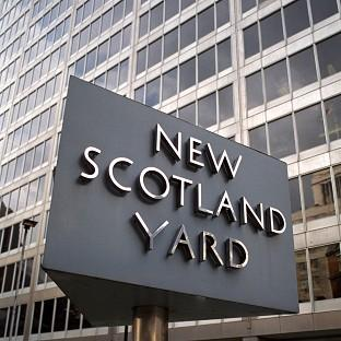 Six people have been arrested fter dawn raids by detectives investigating phone hacking, Scotland Yard said