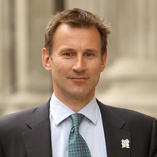 Culture Secretary Jeremy Hunt is giving evidence to the Leveson Inquiry into press standards