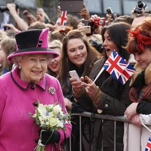 The Queen is visiting several parts of the East Midlands as part of her Jubilee celebrations