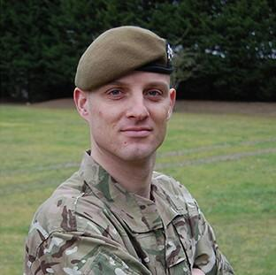 Corporal Alex Guy, of the 1st Battalion The Royal Anglian Regiment, who was killed in action in Afghanistan