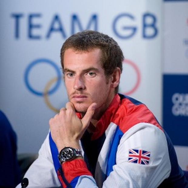 Andy Murray said he aims to win a medal for Team GB