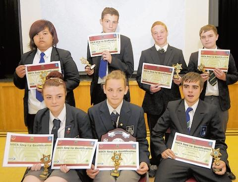 Foundation scheme winners pick up their awards