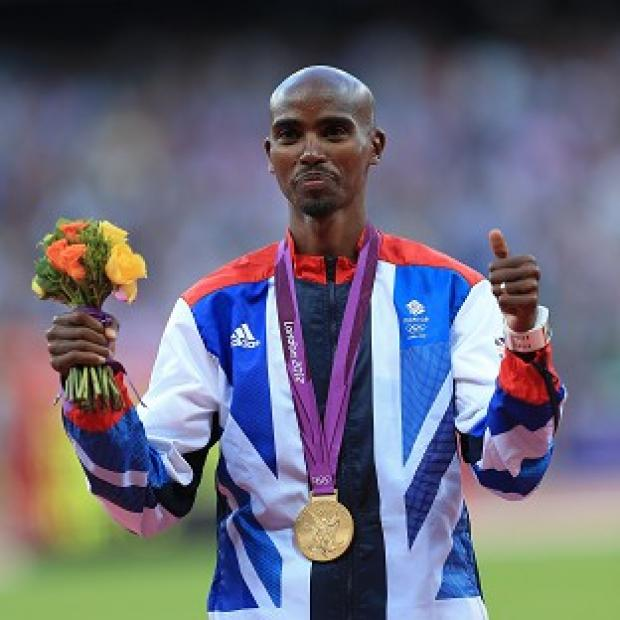 Great Britain's Mo Farah is due to aim for his second gold medal of the 2012 Olympics in the 5,000m final