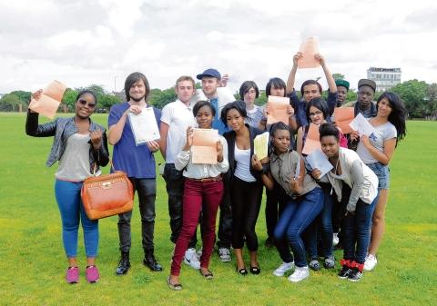 Palmer's College students celebrate their A-level results