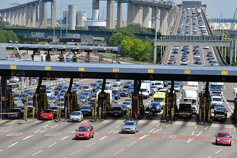 Frightened driver calls 999 at Dartford Crossing due to fear of tunnels