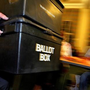 Police and crime commissioner elections are being held in 41 police areas in England and Wales