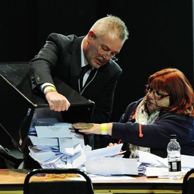 Thurrock Gazette: Counting of the votes in the Rotherham by-election takes place at the Magna Science Centre
