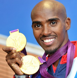 Mo Farah won Olympic gold in both the 10,000 and 5,000 metres