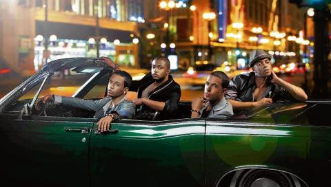 JLS - the boys will be at Mayhem for a Christmas gig