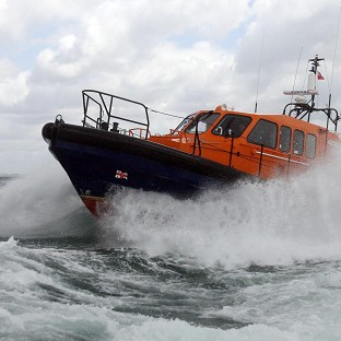 The RNLI helped conduct an extensive search for a t