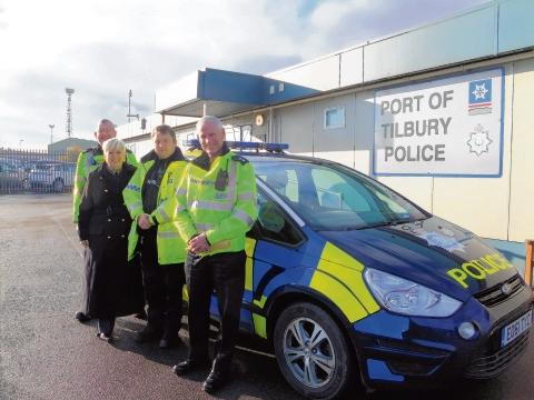 Jackie Doyle-Price MP meets the port police force