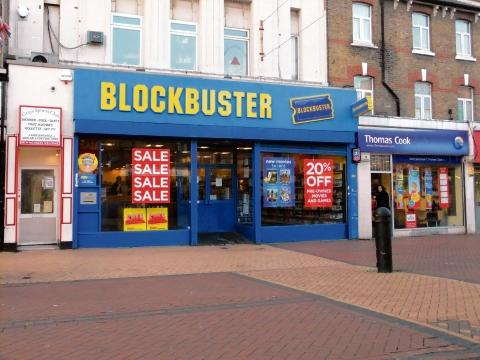 Blockbuster in Grays