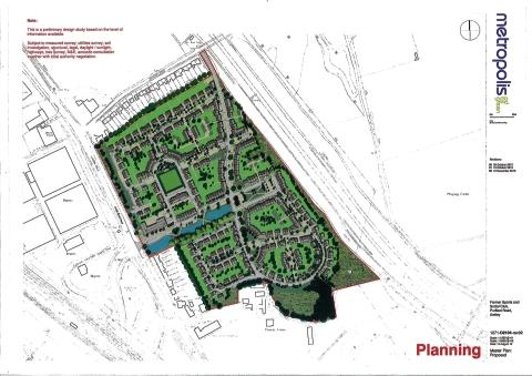 The plans for the site