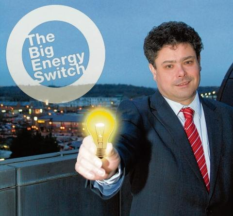 Cllr John Kent launches The Big Switch