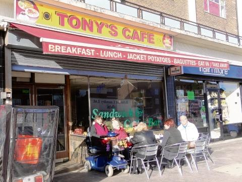 Tony's Cafe in South Ockendon