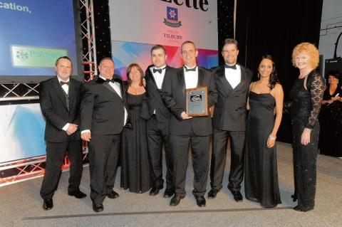 LG Networks get the staff training award from Palmer's College